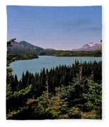 Tagish Lake - Yukon Fleece Blanket