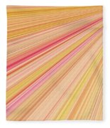 Sun Abstract Fleece Blanket