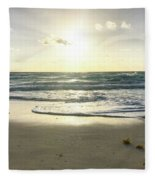 Sun And Sand Fleece Blanket