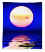 Sun And Water Fleece Blanket
