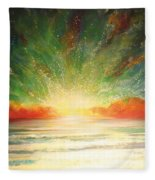 Sun Bliss Fleece Blanket