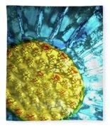 Sun Daisy Fleece Blanket