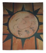 Sun Dance Tile Kit Fleece Blanket