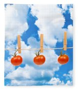 Sun Dried Tomatoes Fleece Blanket