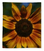 Sun Flower Fleece Blanket