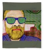 Sun Glasses Fleece Blanket
