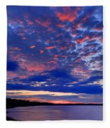 Sun Has Set Fleece Blanket