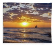 Sun Kissed Fleece Blanket