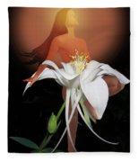 Sun Maiden Fleece Blanket