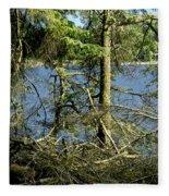 Sun Of The Loch Afternoon. Fleece Blanket