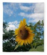 Sun Power Fleece Blanket