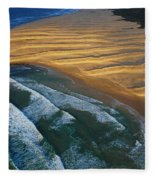 Sun Rise Coast  Fleece Blanket