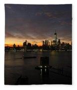 Sun Rise Fleece Blanket