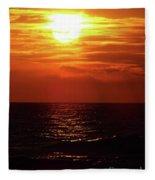 Sun Setting Fleece Blanket