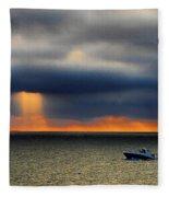 Sun Shower Fleece Blanket