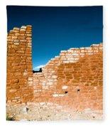 Sun Soaked Ruins Fleece Blanket