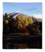 Sun Valley Morning Fleece Blanket