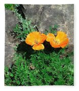 Sunbathers Fleece Blanket