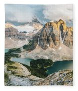 Sunburst Peak Fleece Blanket