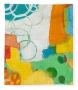 Sunday Day Bubbles Fleece Blanket