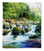 Sunfish Creek Fleece Blanket