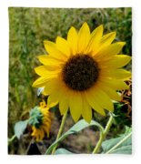 Sunflower 12 Fleece Blanket