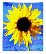 Sunflower 12 Fleece Blanket