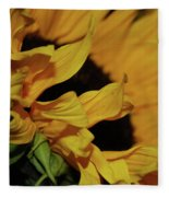 Sunflower Fleece Blanket
