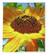 Sunflower Art Prints Sun Flowers Gilcee Prints Baslee Troutman Fleece Blanket