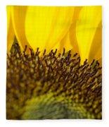 Sunflower Detail Fleece Blanket