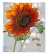 Sunflower Fun II Fleece Blanket