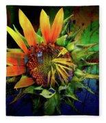Sunflower Magic Fleece Blanket