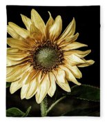 Sunflower Modified Fleece Blanket