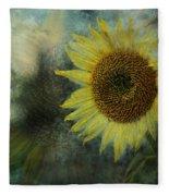 Sunflower Sea Fleece Blanket