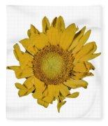 Sunflower T Fleece Blanket