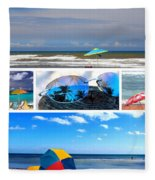 Sunglasses Needed In Paradise Fleece Blanket