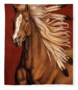 Sunhorse Fleece Blanket