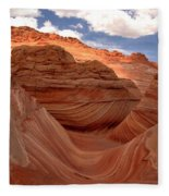 Sunkiss At Coyote Buttes Fleece Blanket