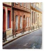 Sunlight In Toulouse Fleece Blanket
