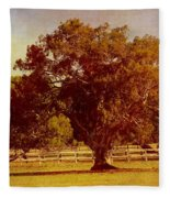 Sunlit Landscape Fleece Blanket