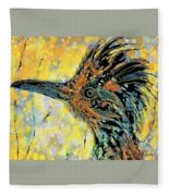 Sunlit Roadrunner Fleece Blanket
