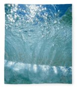 Sunlit Wave Fleece Blanket