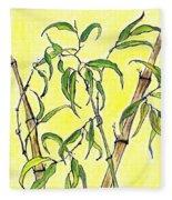 Sunny Bamboo Fleece Blanket