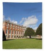 Sunny Day At Hampton Court Palace London Uk Fleece Blanket