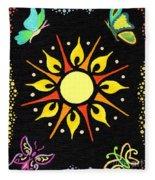 Sunny Delight Fleece Blanket