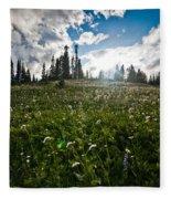 Sunny Meadows  Fleece Blanket