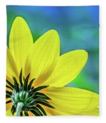 Sunny Outlook Fleece Blanket