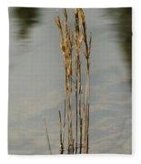 Sunny Reeds Reflect Fleece Blanket