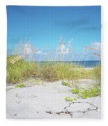 Sunny Sanibel Fleece Blanket