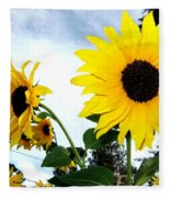 Sunny Slopes Fleece Blanket